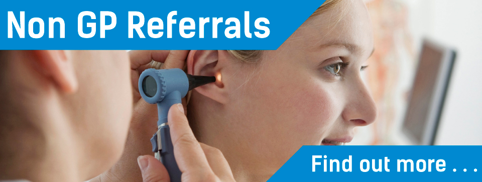 Exeter ENT referrals & non GP referral