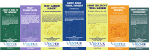 ENT UK patient leaflets download